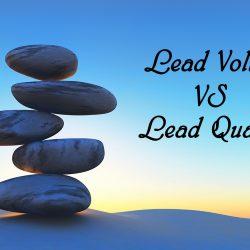lead volume lead quality