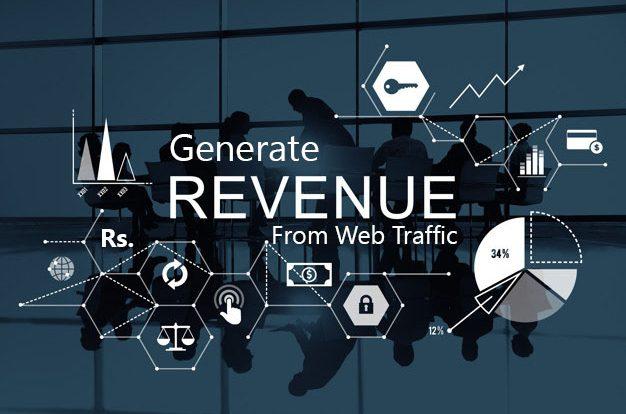 Revenue from web traffic