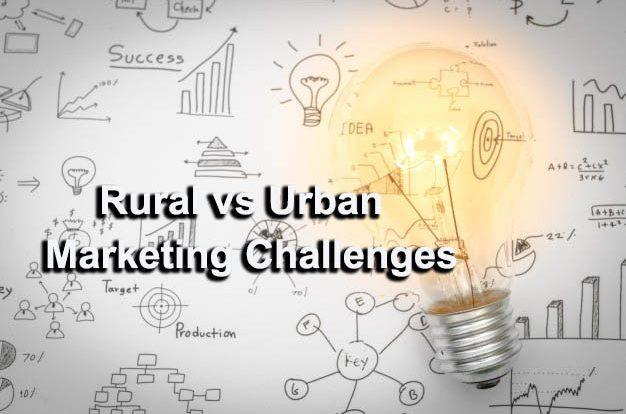 rural and urban marketing